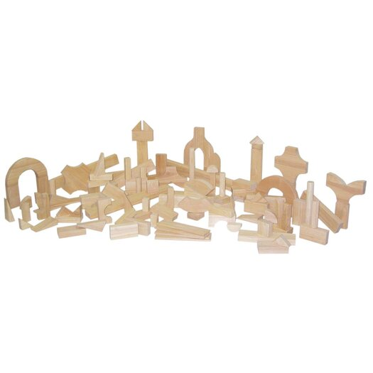 Wood Designs 111 Piece Preschool Block Set