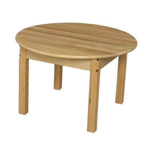 Wood Designs Round Classroom Table