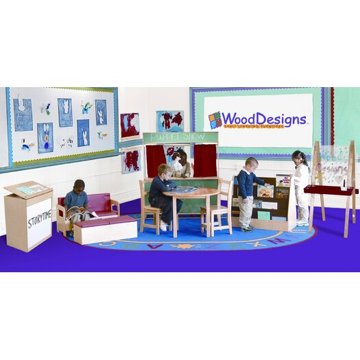 Wood Designs 10 Piece Literacy Package Set