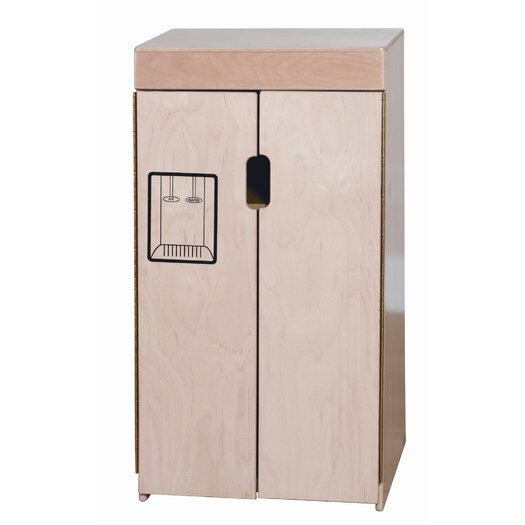 Wood Designs Tip-Me-Not Refrigerator