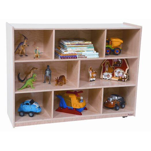 Wood Designs Single Storage Unit with Hardboard Back