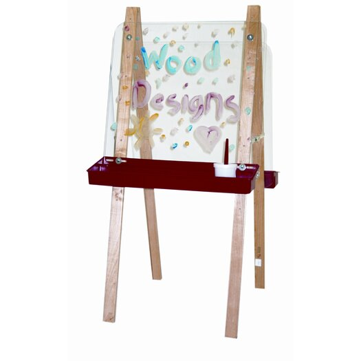 Wood Designs Double Adjustable Easel with Plywood