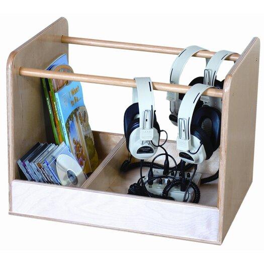 Wood Designs Audio Cabinet