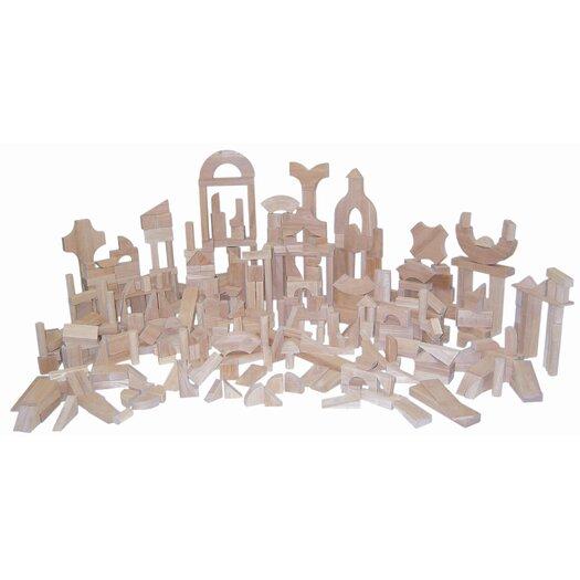 Wood Designs 372 Piece Classroom Blocks Set