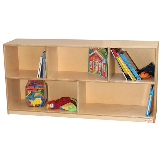 "Wood Designs 24"" Extra Deep Mobile Single Storage Unit"