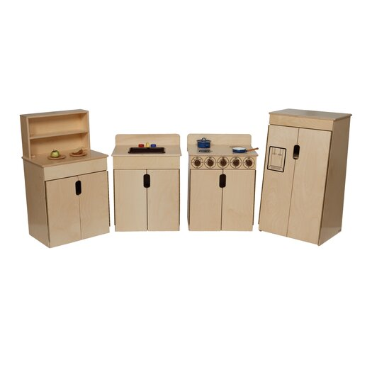 Wood Designs Natural Environment Tip Me Not Appliance Set