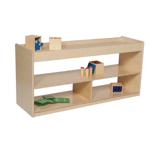 "Wood Designs Natural Environment 24"" Math/Language Cabinet"