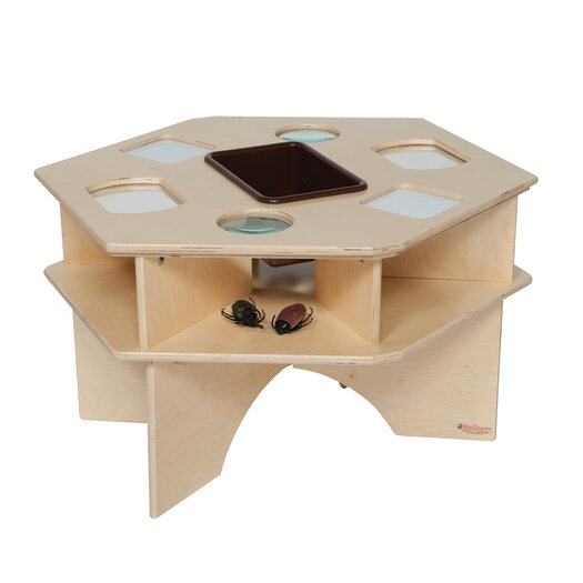 Wood Designs Natural Environment Deluxe Science Table