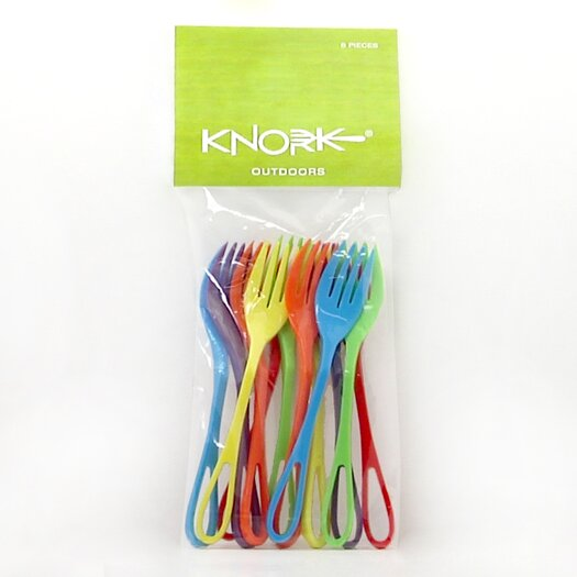 Knork 12-Piece Outdoor Fork Set