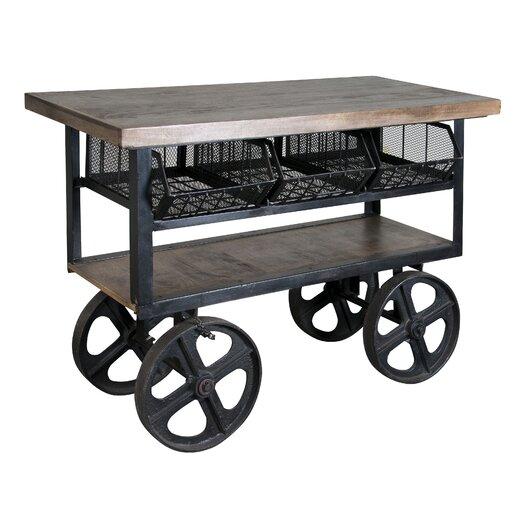 Coast to Coast Imports LLC Coastal Kitchen Trolley