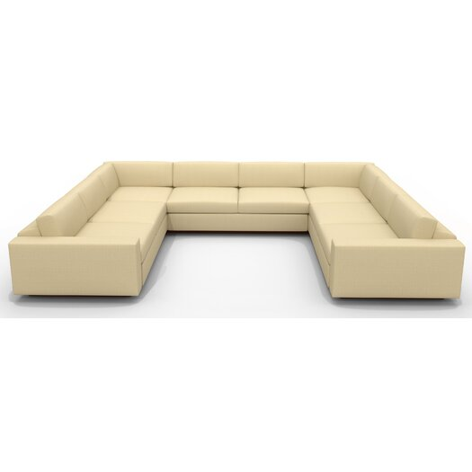 "TrueModern Jackson ""U"" Shaped Sectional"