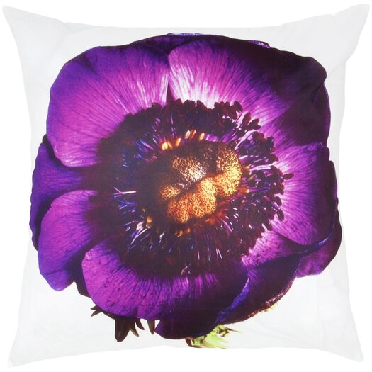 India's Heritage Flower Print Pillow