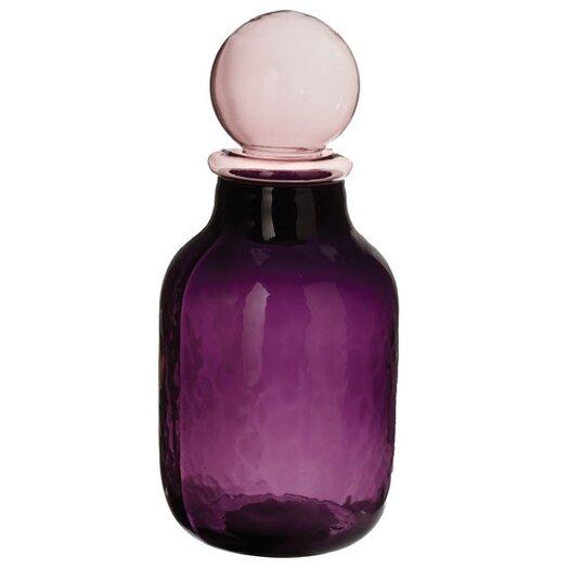 Lazy Susan USA Wildflower Glinda Bubble Decorative Bottle with Stopper