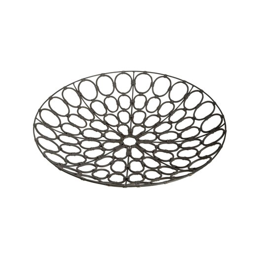 Lazy Susan USA Weathered Oval Serving Tray