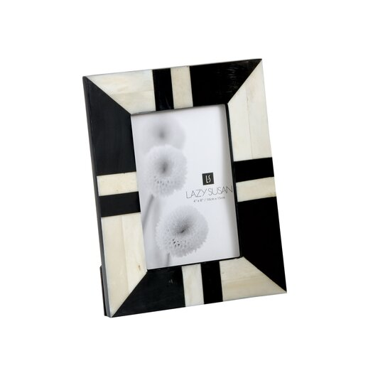 Lazy Susan USA Horn and Bone Picture Frame