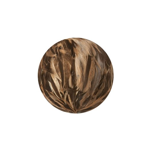 Lazy Susan USA Ring Neck Pheasant Feather Ball