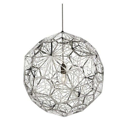 Tom Dixon Etch Web Pendant