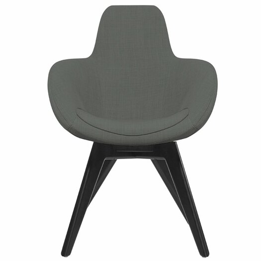 Tom Dixon Scoop Side Chair with Wooden Legs