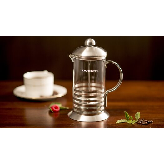 Ovente Stainless Steel French Press Coffee Maker