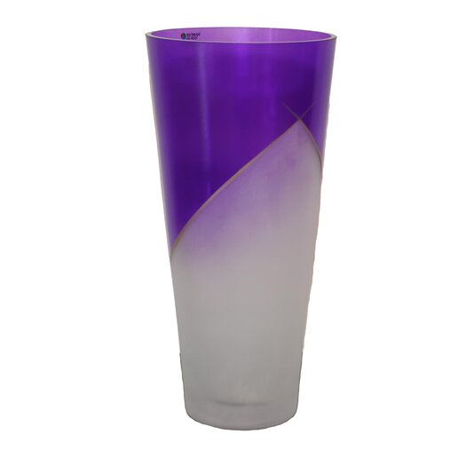 Womar Glass Paix Vase