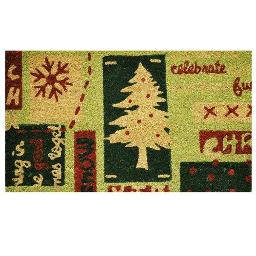 Home & More Christmas Menagerie Doormat