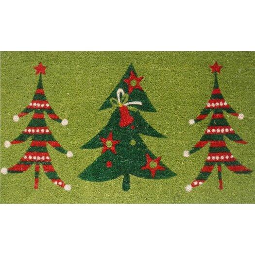 Home & More Christmas Trio Doormat