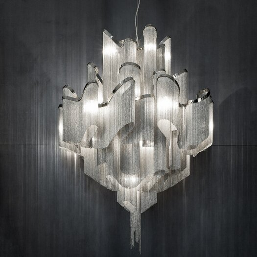 Terzani Stream 20 Light Chandelier