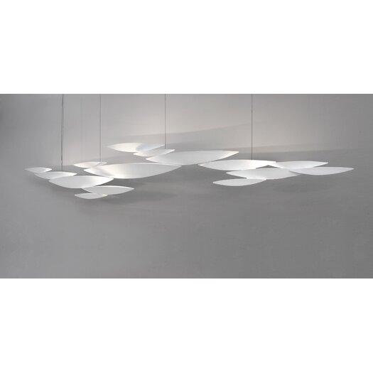 Terzani I Lucci Argentati Suspension Light