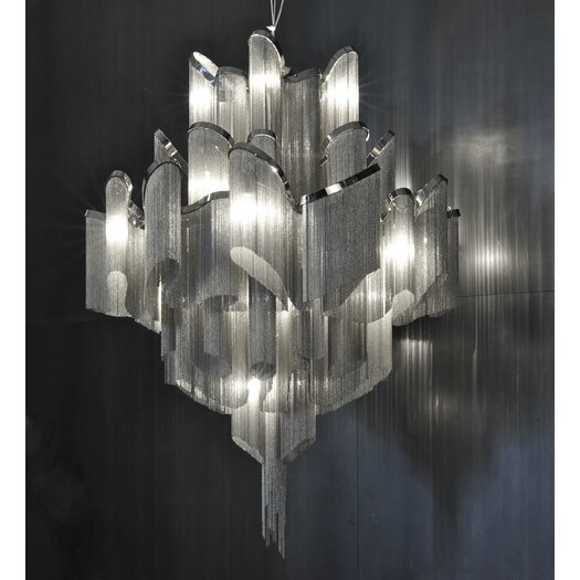 Terzani Stream 20 Light Chandelier