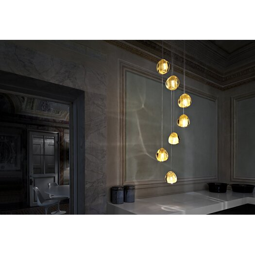 Terzani Mizu 7 Light Pendant