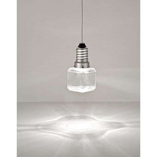 Terzani Kristal E Cube One Light Pendant