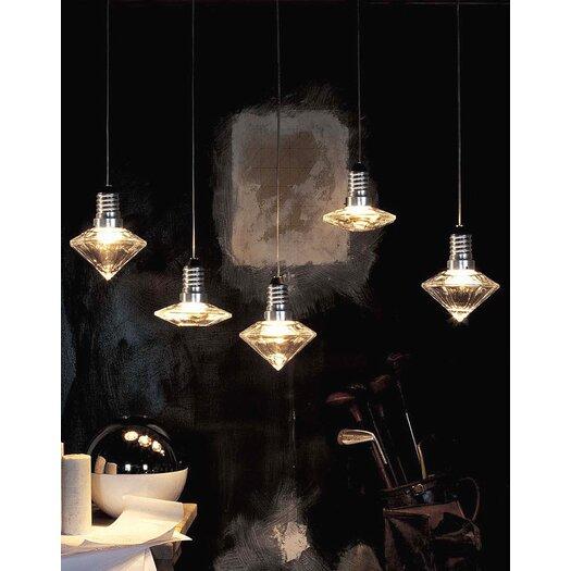 Terzani Kristal Diam 12/12 One Light Pendant