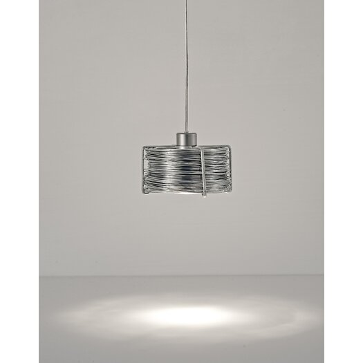 Terzani Bobino One Light Pendant with Metal Diffuser