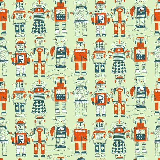 Loboloup Robots wallpaper