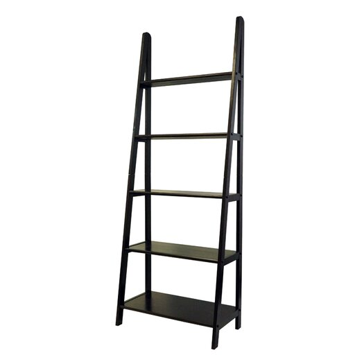 """Casual Home 72"""" Ladder Bookcase"""