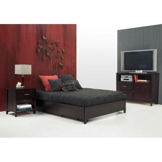 Modus Furniture Nevis Storage Platform Bed