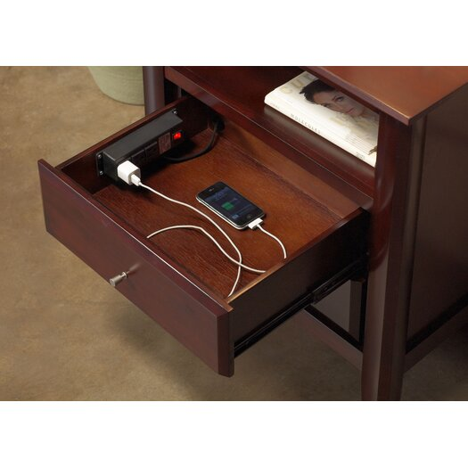 Modus Furniture City II 2 Drawer Nightstand