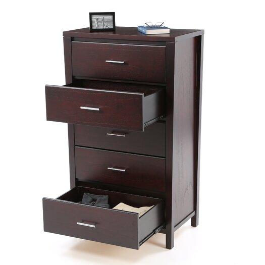 Modus Furniture Nevis 5 Drawer Chest