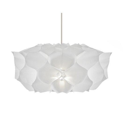Artecnica Square Phrena 1 Light Mini Pendant in White