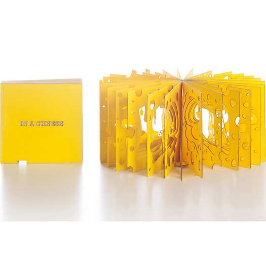 Artecnica 360 Cheese Booklet Figurine