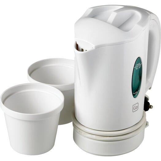Go Travel Car 0.44-qt. Electric Tea Kettle Set