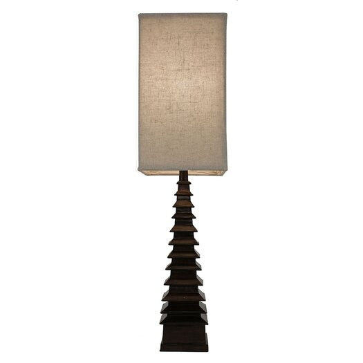 "J. Hunt Home 37"" H Table Lamp with Rectangular Shade"