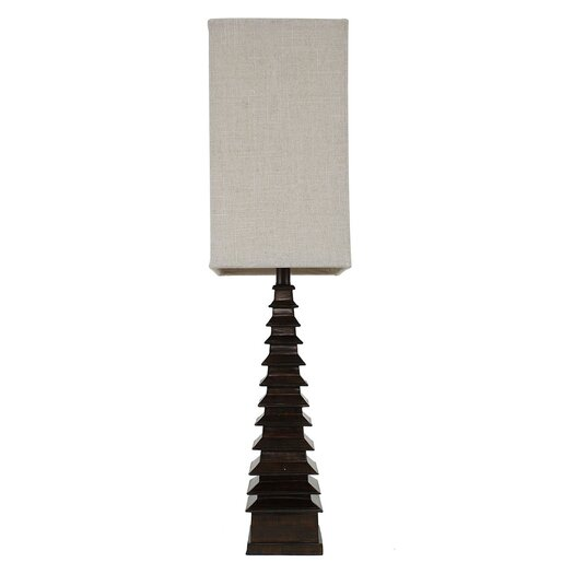 """J. Hunt Home 37"""" H Table Lamp with Rectangular Shade"""