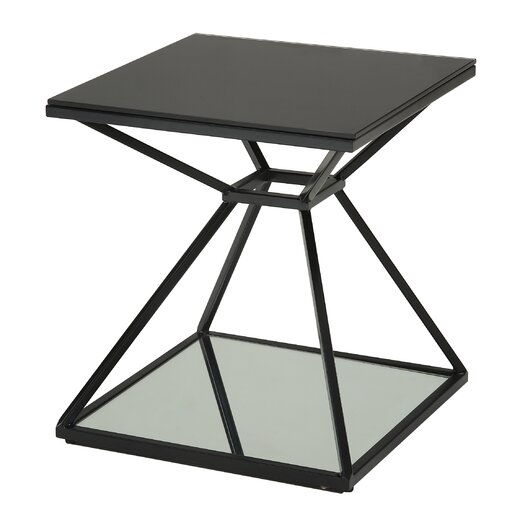 Sunpan Modern Wedge End Table