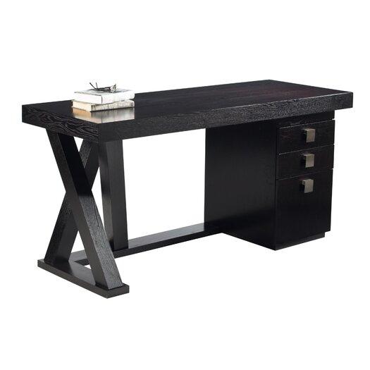 Sunpan Modern Madero Computer Desk with Drawers