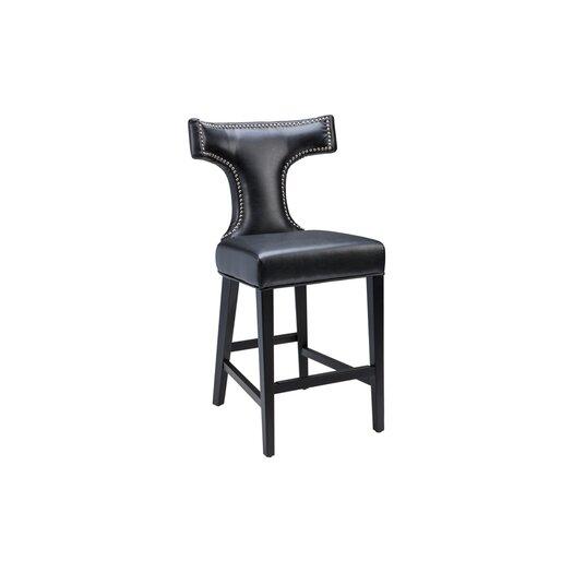 """Sunpan Modern Serafina 26"""" Bar Stool with Cushion"""