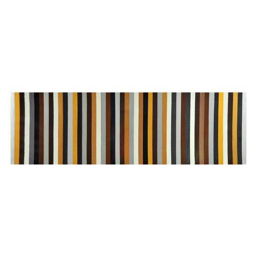 Sunpan Modern Earthy Stripes Painting Print