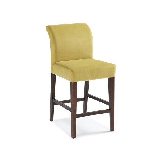 "Sunpan Modern Prado 26"" Bar Stool with Cushion"