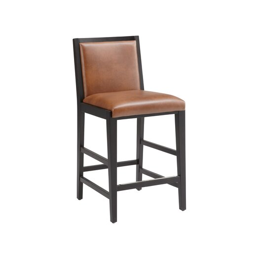 "Sunpan Modern Thompson 25.5"" Bar Stool with Cushion"