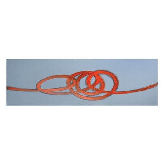 Sunpan Modern Swirl Painting Print